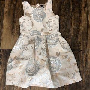 Gap Kids Rose Dress Double Lining L 10